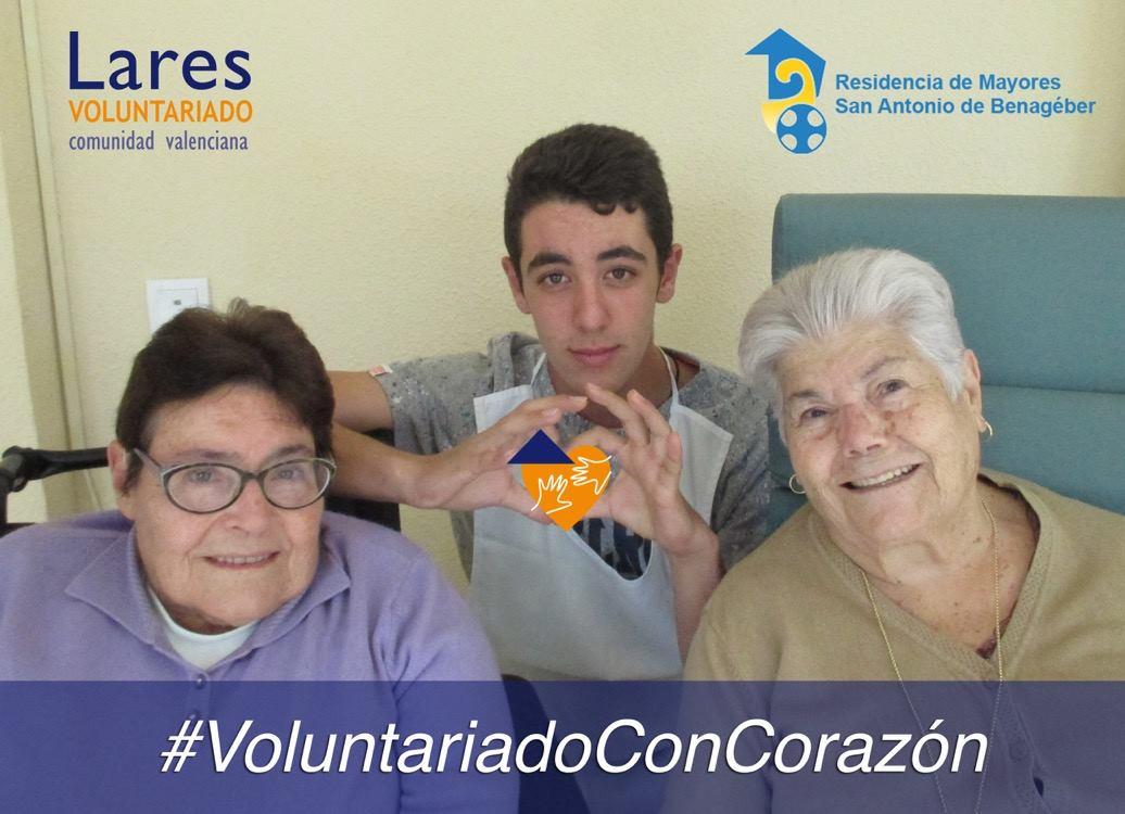 voluntariado residencia benabeger - Residencia San Antonio de Benageber Voluntariado Con Corazón