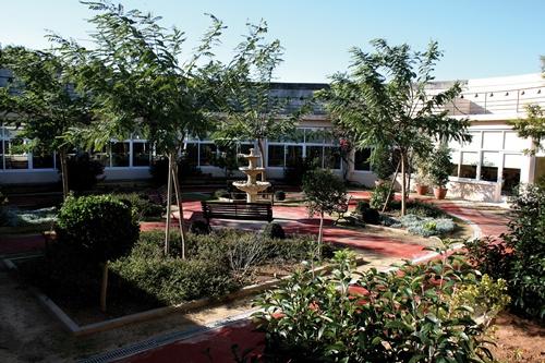 imagen jardin residencia