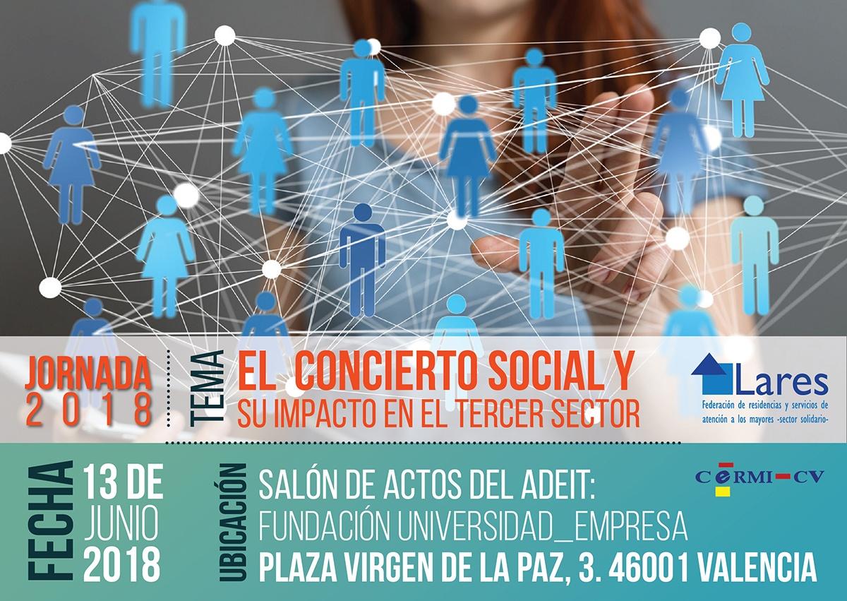 Anuncio Red Scocial grande - Jornada El Concierto Social y su Impacto en el Tercer Sector 13/06 Valencia