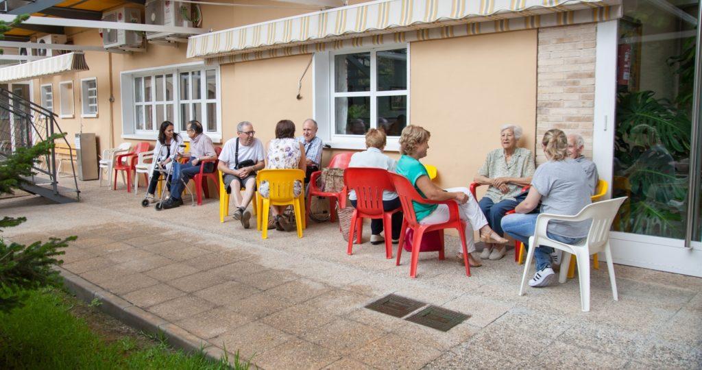 Familiares residentes 1024x540 - Fundación Casa Beneficencia. La importancia de la familia en el entorno residencial