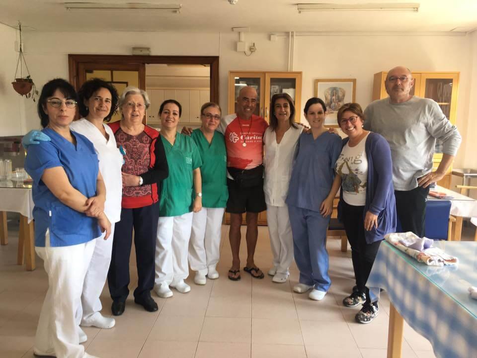 camino2 1 - La Residencia de Ancianos de Caritas Burriana se llena de solidaridad