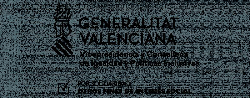 Logo IRPF byn Castellano